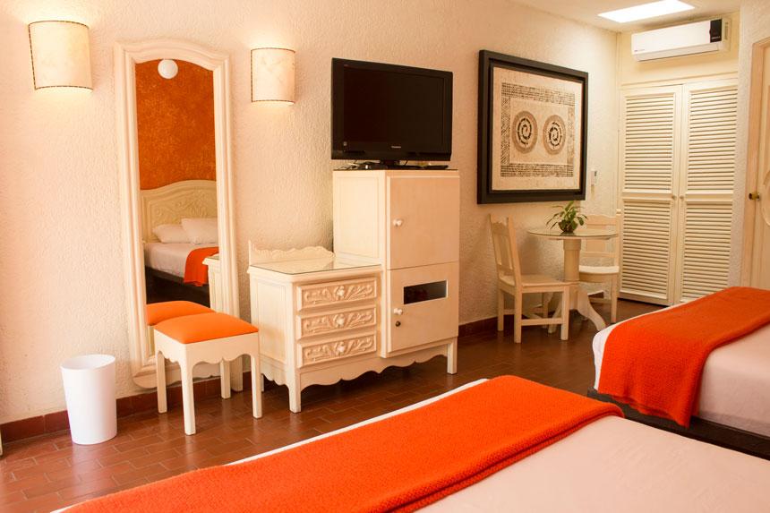 Habitaciones de Hotel en Cuernavaca con las amenidades necesarias para una experiencia que te hará recordar los mejores momentos de la niñez