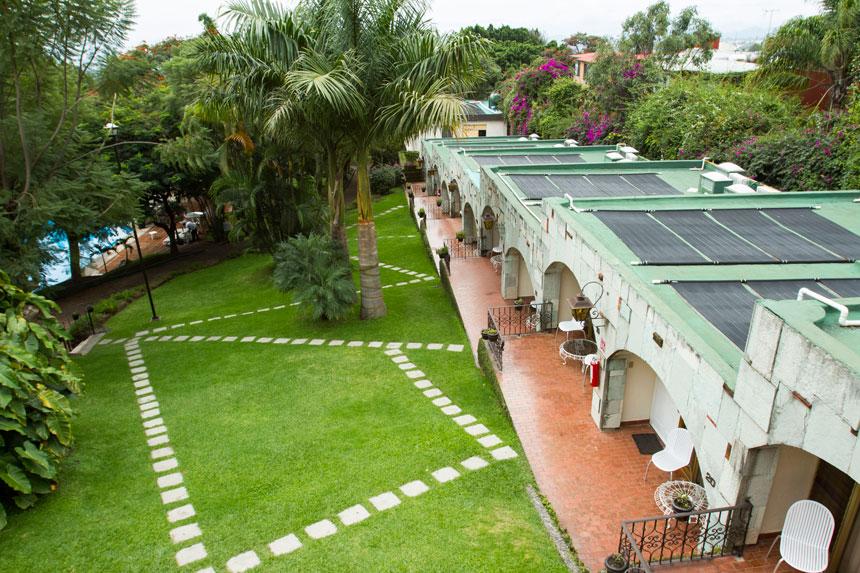 Hoteles en Cuernavaca con jardin