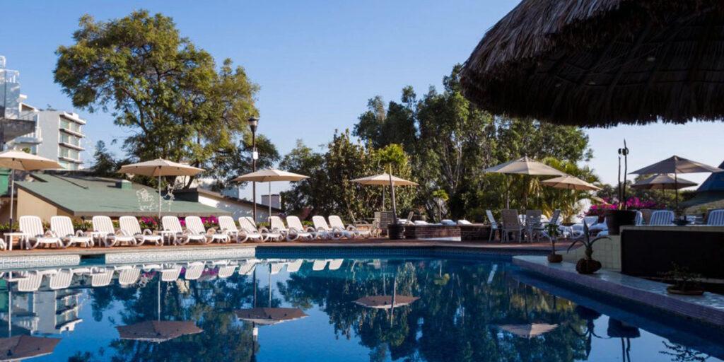 Hoteles en Cuernavaca con alberca climatizada para niños