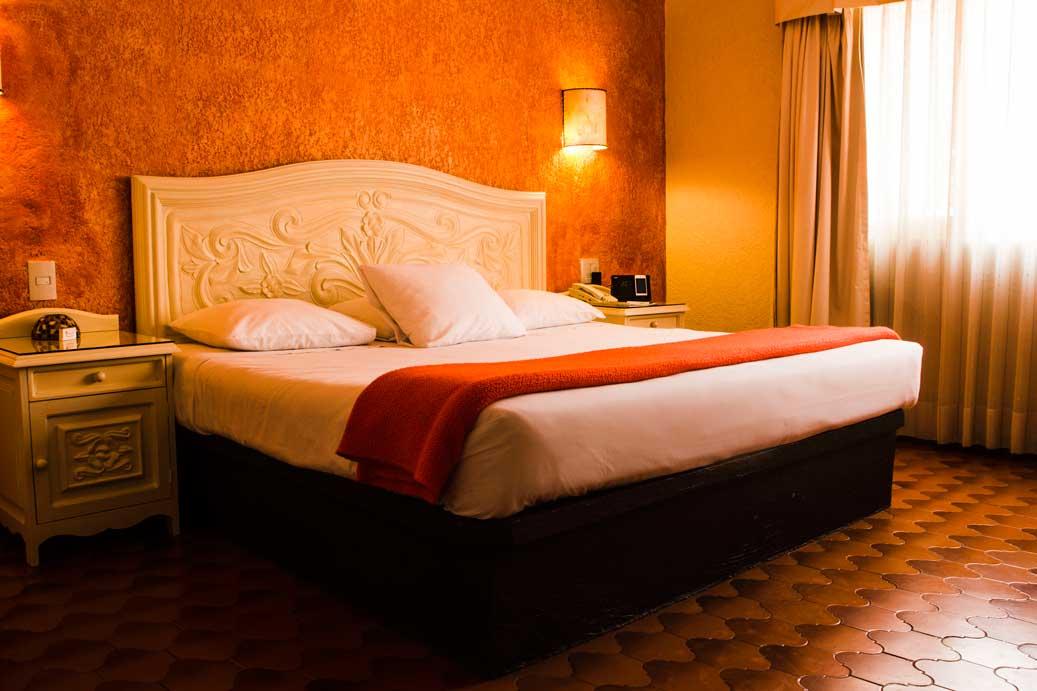 Cuernavaca hotel habitacion