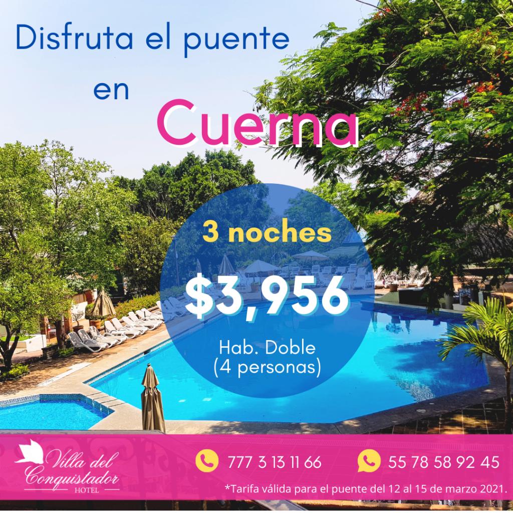 Hotel en Cuernavaca con alberca climatizada